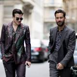Street Fashion: Milan Men's Fashion Week wiosna-lato 2017