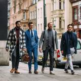 Street fashion: London Fashion Week Men's jesień-zima 2017/2018