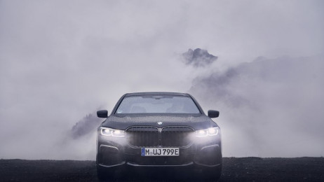 BMW 745le iPerformance - Luksus z gniazdka