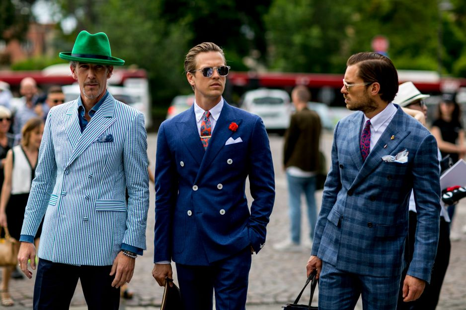 Street Fashion: Florence Men's Fashion Week wiosna-lato 2017